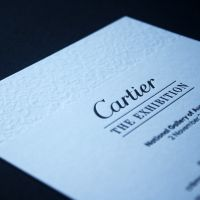 Cartier event stationery