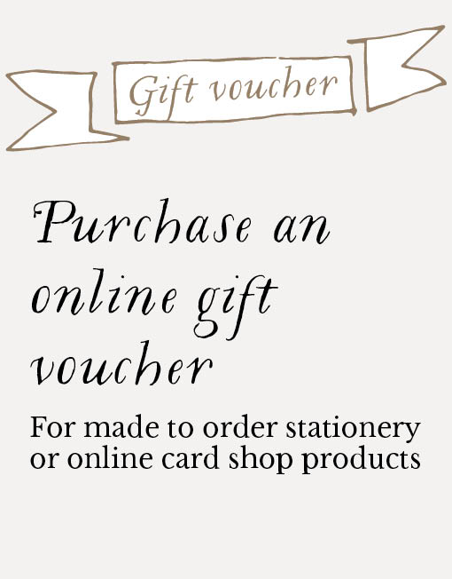 Purchase on online gift voucher