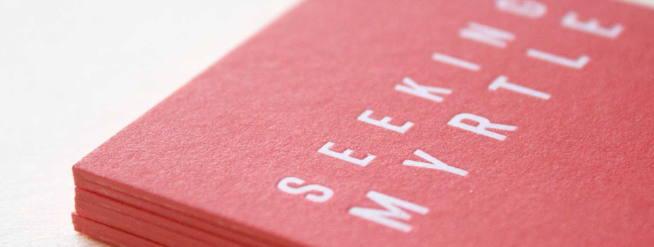Stylish business cards and stationery